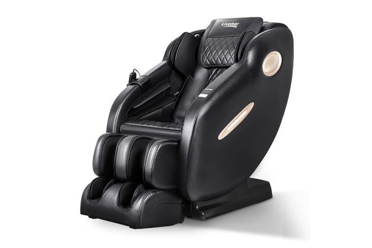 Livemor Electric Massage Chair SL Track Full Body Air Bags Shiatsu Massaging Massager