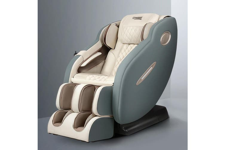 Livemor Electric Massage Chair Recliner SL Track Shiatsu Heat Back Massager