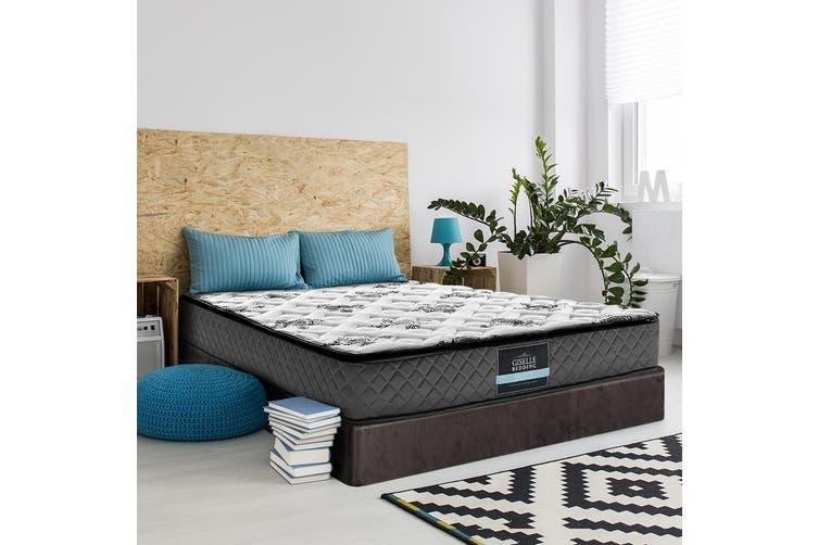 Giselle Bedding DOUBLE Size Bed Mattress Pillow Top Foam Bonnell Spring 24CM