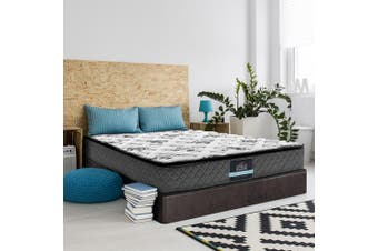 Giselle Bedding KING SINGLE Size Bed Mattress Pillow Top Foam Bonnell Spring