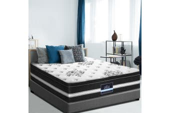 Giselle Queen Size Mattress Bed COOL GEL Memory Foam Euro Top Pocket Spring