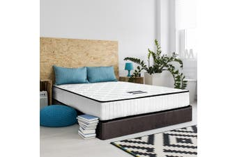 Giselle Bedding KING SINGLE Size Mattress Pocket Spring Tight Top Foam 21CM