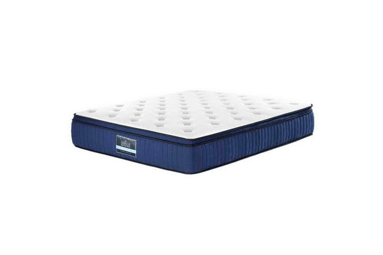 Giselle Bedding KING Mattress Bed Pocket Spring Cool Gel Memory Foam 7 Zone