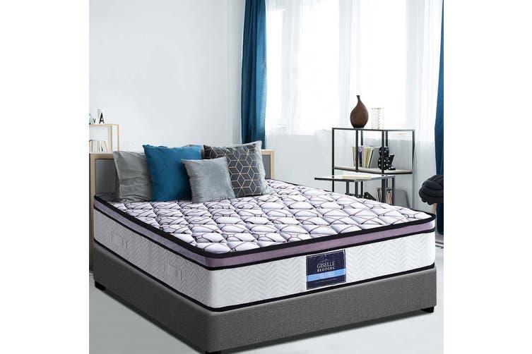 Giselle Bedding Queen Mattress Bed Size Memory Foam COOL GEL Pocket Spring
