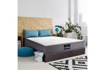 Giselle Bedding DOUBLE Size Bed Mattress Tight Top Bonnell Spring Foam 20CM