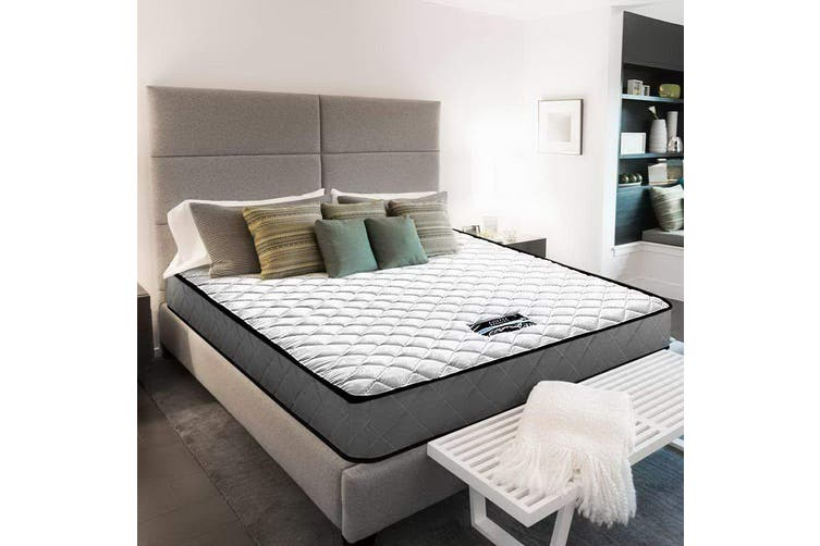 Giselle Bedding DOUBLE Size Bed Mattress Tight Top Bonnell Spring Foam 16CM