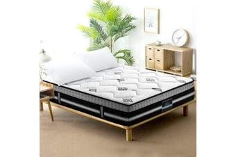 Giselle 35cm King Size Mattress Bed 7 Zone Pocket Spring Cool Gel Foam Medium Firm