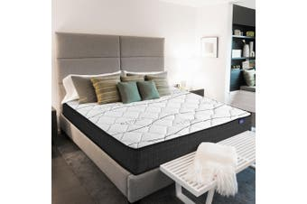 Giselle Bedding Double Size Mattress Bed Medium Firm Foam Bonnell Spring 16cm