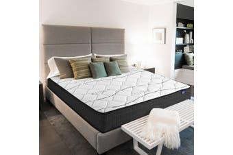 Giselle Bedding Queen Size Mattress Bed Medium Firm Foam Bonnell Spring 16cm