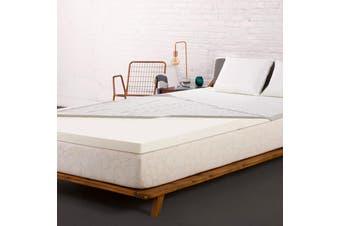 Giselle Mattress Topper Memory Foam Topper Single Bed 8CM Underlay Mat