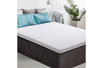 Giselle Bedding Memory Foam Mattress Topper Bed Underlay Cover Double 7cm