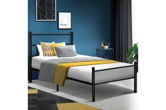 Artiss SINGLE Size Metal Bed Frame SIMON Mattress Base Platform Foundation