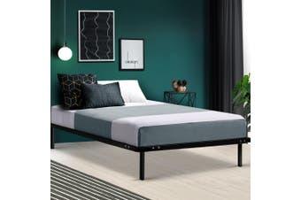 Artiss SINGLE Metal Bed Base Frame Timber Mattress Foundation Platform