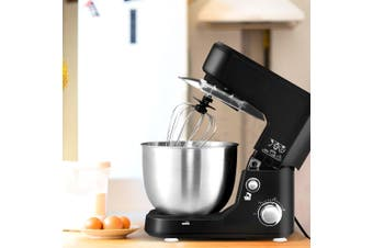 Devanti Electric Stand Mixer Food Mixers Egg Beater Kitchen Cake