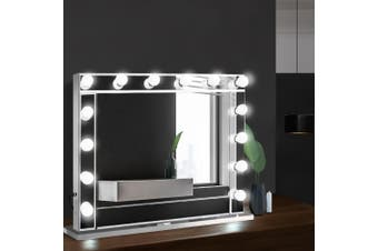 Embellir Hollywood LED Lighted Makeup Mirror Vanity Mirror Frameless Professional