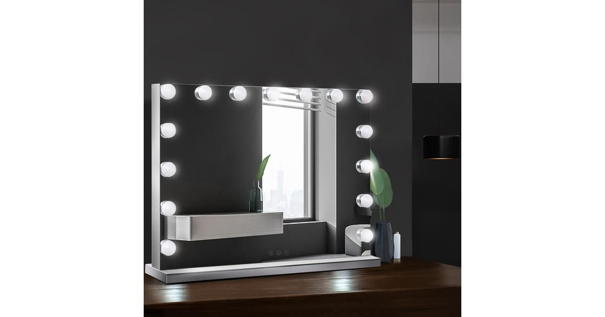 Embellir Hollywood Makeup Mirror With, Embellir Hollywood Makeup Mirror With Light Led Bulbs Vanity Beauty