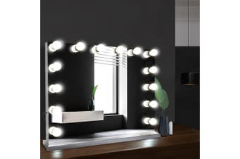 Embellir Hollywood Professional Makeup Mirror With Light Frameless LED Blubs Lighted