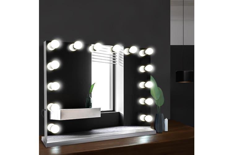 Embellir Hollywood Professional Makeup Mirror With Light Frameless LED Blubs Lighted