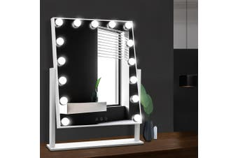 Embellir Hollywood Makeup Mirror with 15 Dimmable Bulb Lighted Dressing