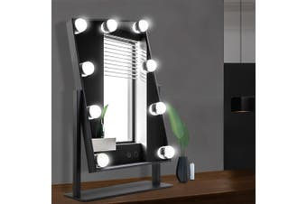 Embellir Hollywood Makeup Mirror With Light 12 LED Standing Mirror Vanity