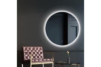 Embellir LED Round Wall Mirror 50CM Makeup Bathroom Frameless Mirrors Vanity