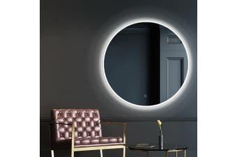 Embellir LED Round Wall Mirror 80CM Makeup Bathroom Frameless Mirrors Vanity