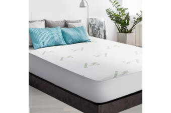 Giselle Mattress Protector Double Bamboo
