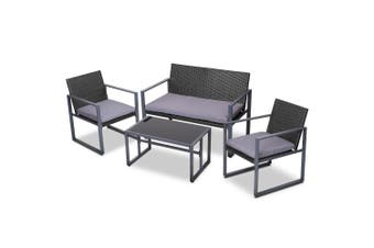 Gardeon Patio Setting Outdoor Furniture Lounge Chairs Table Garden Bench Wicker