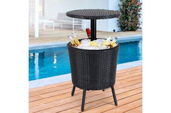 Gardeon Bar Table Outdoor Setting Cooler Ice Bucket Party Pool Patio