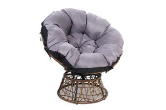 Gardeon Outdoor Lounge Setting Furniture Papasan Chairs Wicker Sofa Garden Patio