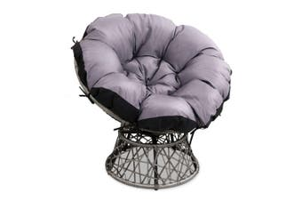Gardeon Outdoor Lounge Setting Furniture Papasan Chairs Wicker Patio Garden Sofa