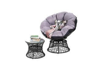 Gardeon Outdoor Lounge Setting Furniture Papasan Chairs Table Wicker Sofa Garden