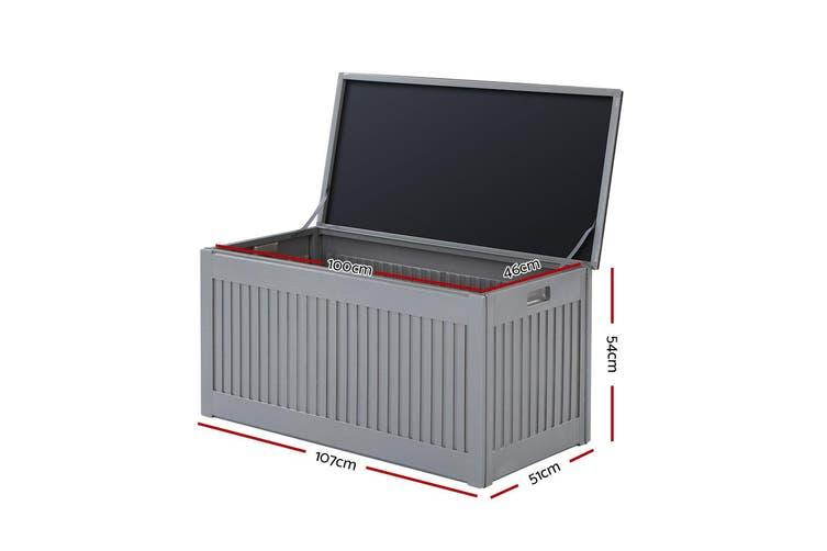Gardeon Outdoor Storage Box Container Indoor Garden Toy Tool Sheds Chest 270L