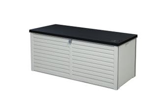 Gardeon Outdoor Storage Box Bench Seat Toy Tool Sheds Cabinet Indoor Garden 390L