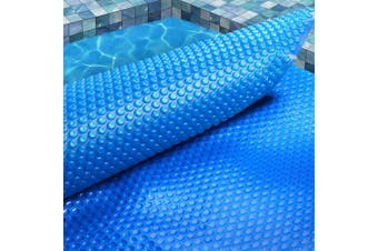 Aquabuddy 9.5M X5M Solar Swimming Pool Cover 500 Micron Outdoor Bubble Blanket