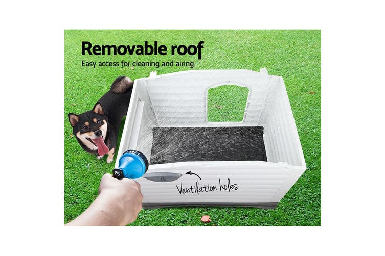 i.Pet Dog Kennel Kennels Outdoor Plastic Pet House Puppy Extra Large XL