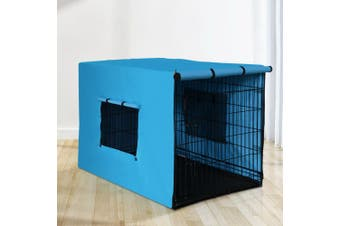 """i.Pet  36"""" Dog Cage With Cover Pet Crate Kennel Folding Collapsible Portable"""
