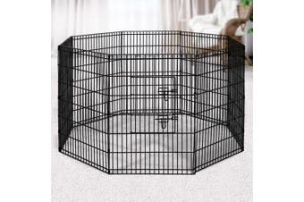 "i.Pet  36"" 8 Panel Pet Dog Playpen Puppy Exercise Metal Cage Fence Play Pen"