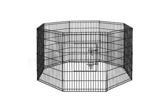 """i.Pet 2x 36"""" 8 Panel Pet Dog Playpen Puppy Exercise Cage Fence Rabbit Play Pen"""