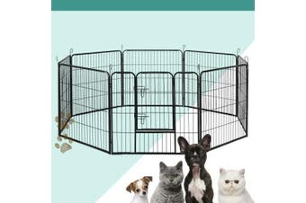 i.Pet  8 Panel Pet Dog Playpen Puppy Exercise Cage Enclosure Fence Play Pen XL