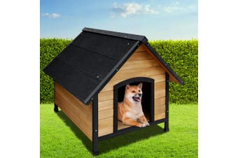Dick Smith I Pet Dog Kennel Kennels Outdoor Wooden Pet House Puppy Extra Large Xl Pets Dogs Dog Kennels
