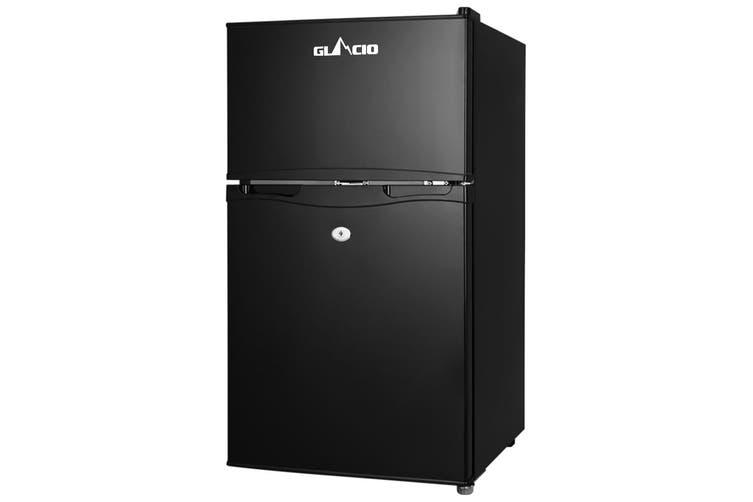 Glacio 90L Portable Fridge Bar Freezer Cooler Upright 12V/24V/240V Caravan Car