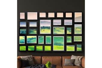 Artiss Picture Photo Frames Collage Black Wall Hanging Set Home Decor Gift Present 30PCS