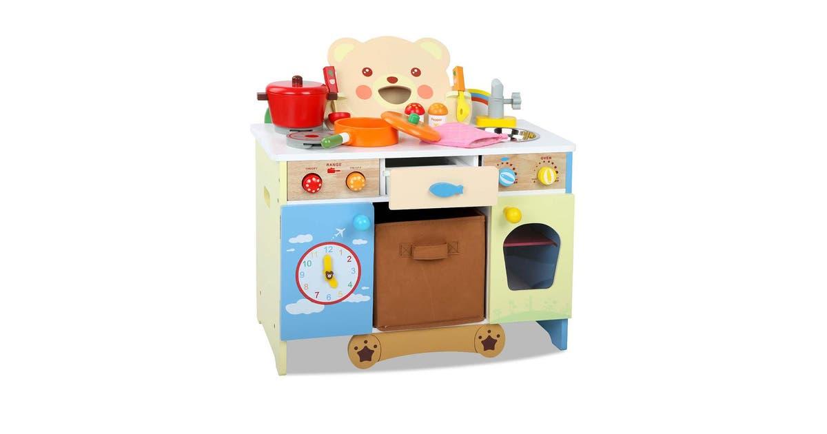 Keezi Kids Bear Themed Kitchen Play Toy