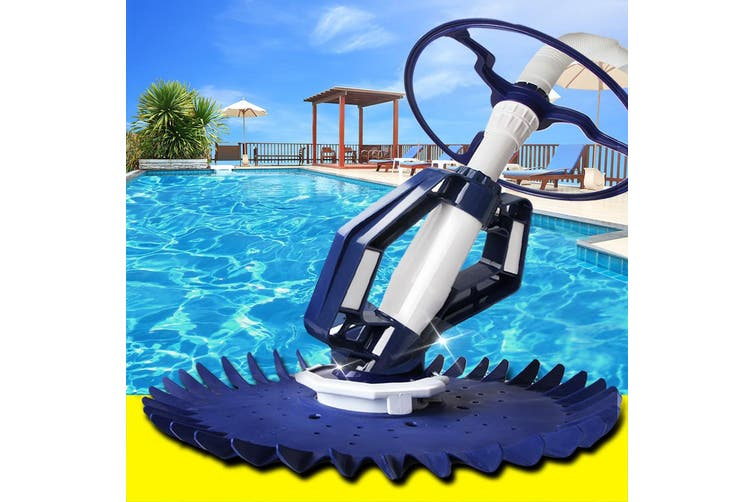 Aquabuddy Automatic Swimming Pool Cleaner Robotic Floor Vacuum 10m Hose Climb Wall Wheels All Pool Surfaces Ingorund