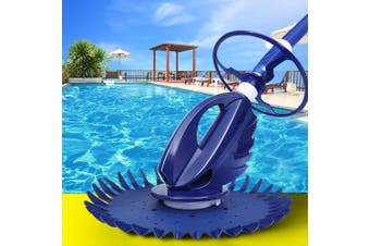Aquabuddy Automatic Swimming Pool Cleaner Robotic Floor Vacuum 10m Hose Wheels All Pool Surfaces Ingorund Above Ground