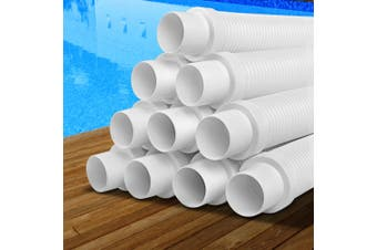 Aquabuddy Generic Pool cleaner hose EVA Spare Length White Kreepy Krauly 1x10m
