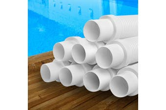 Aquabuddy Pool Cleaner Hose EVA Spare Length Generic White Kreepy Krauly 8x120cm