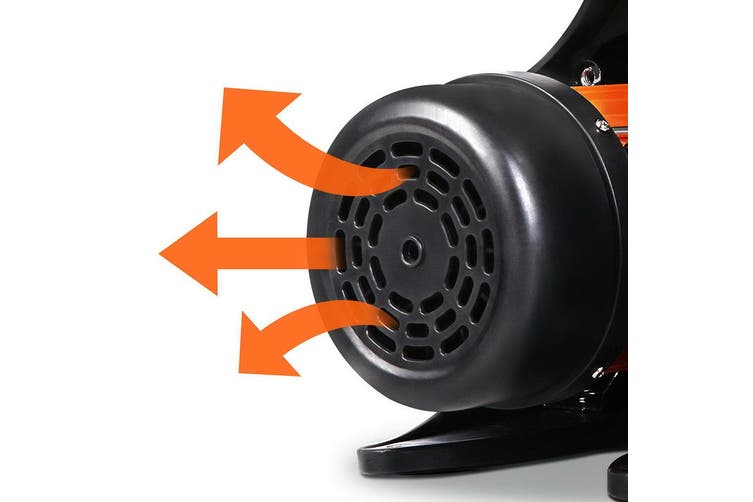 Giantz 800W High Pressure Garden Water Pump Auto Controller Durable Stainless Steel Home Portable YELLOW