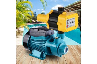 Auto QB60 Peripheral Water Pump Clean Electric Garden Farm Rain Tank Automatic Irrigation YELLOW